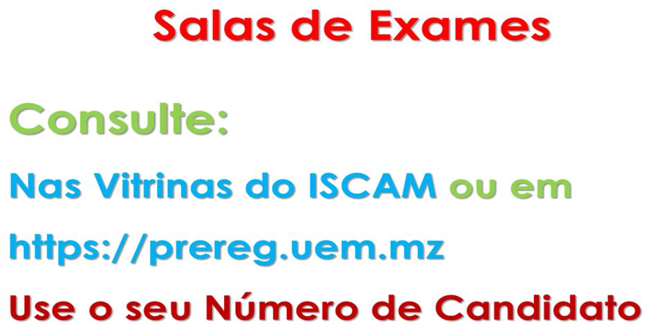 Consulta Sala Exame